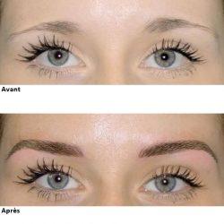 Tatouage permanent des sourcils